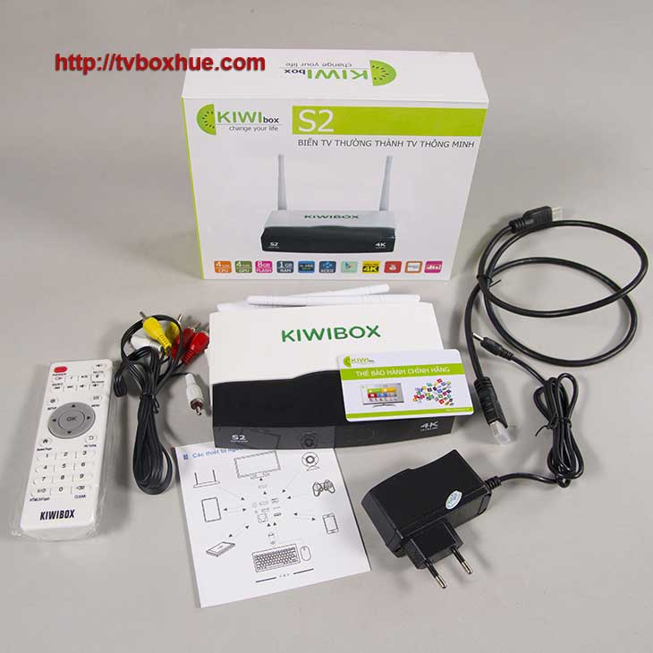 Trọn bô sản phẩm Kiwibox S2