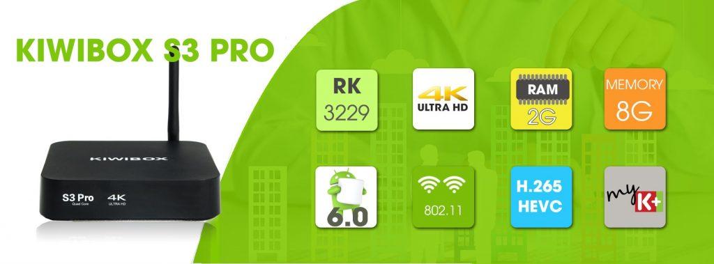 Chi tiết thông số Kiwibox S3 Pro