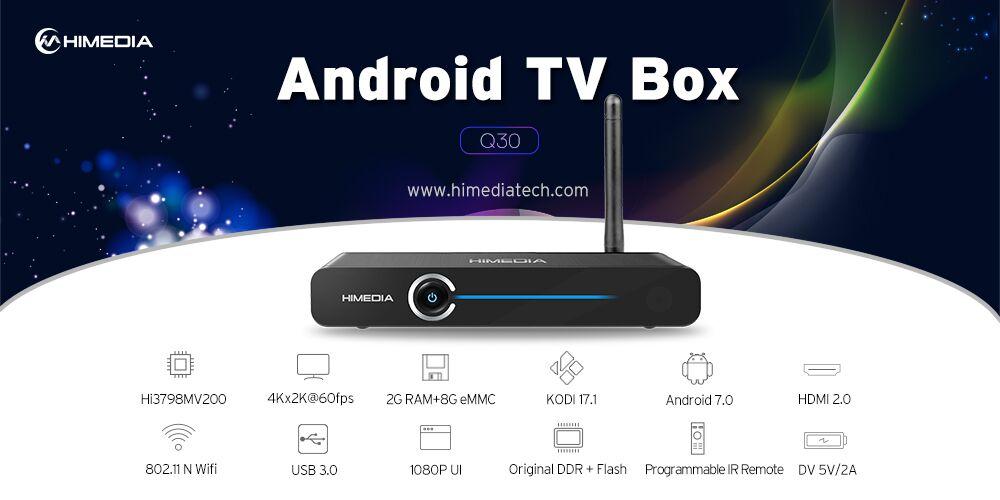 Tổng quan Android TV Box Himedia Q30