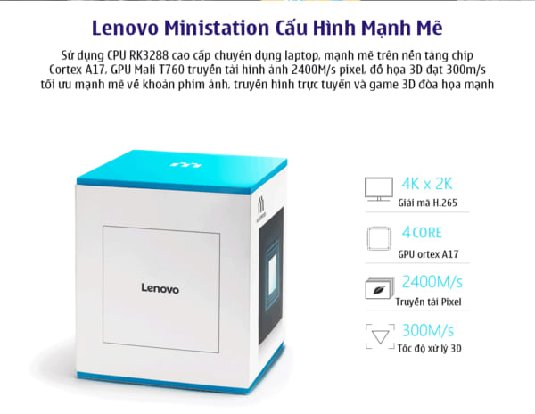 Lenovo Ministation VXc10 - Chiếc Android Box Ấn Tượng nhất 2017
