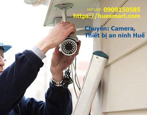 Lắp đặt camera quan sát tại Huế